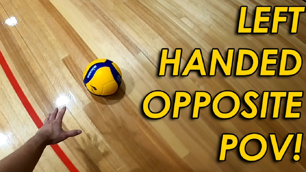 Download LEFT HANDED SPIKER POV!   FIRST PERSON VOLLEYBALL #11