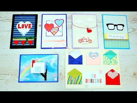 Как сделать романтические открытки своими руками