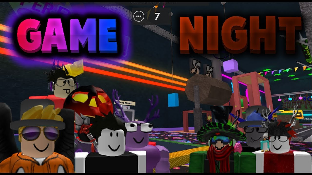 Roblox Game Night - Game Night Time Roblox Game Night 01 Witherald S Choice