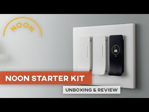 Magic Smart Switches –Noon Home Starter Kit Unboxing & Review