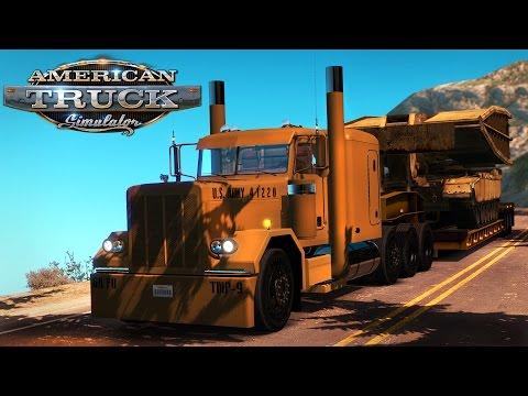 American Truck Simulator: Jake braking down the switchbacks of the Million Dollar Hwy