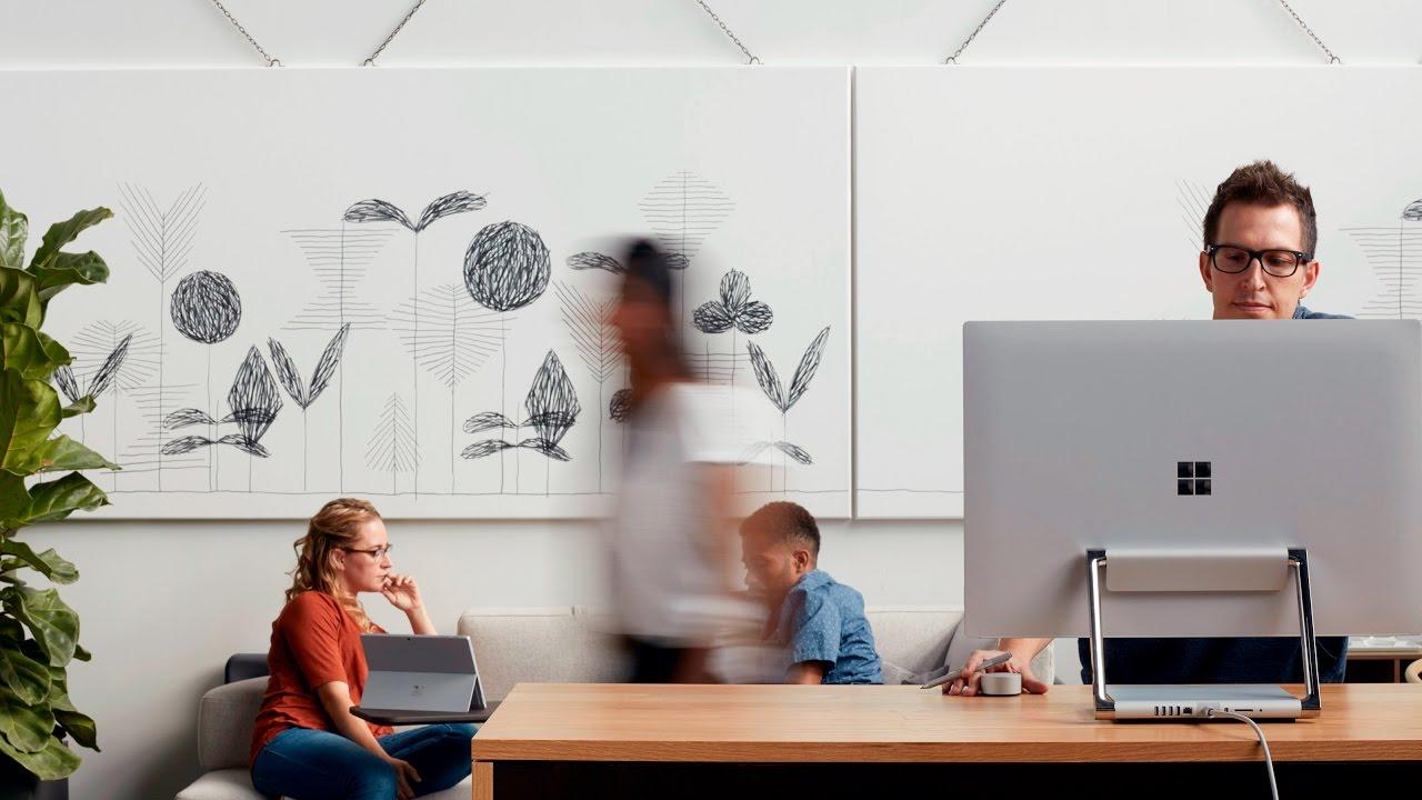 MicrosoftとSteelcaseのパートナーシップ提携 - Steelcase