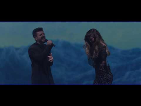 Delta Goodrem and Alfie Arcuri sings 'Beneath Your Beautiful' | The Voice Australia 2016