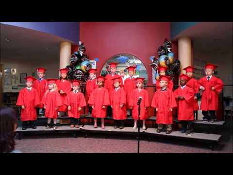 Kindergarten graduation 2014, Step by Step Montessori School (Plymouth)