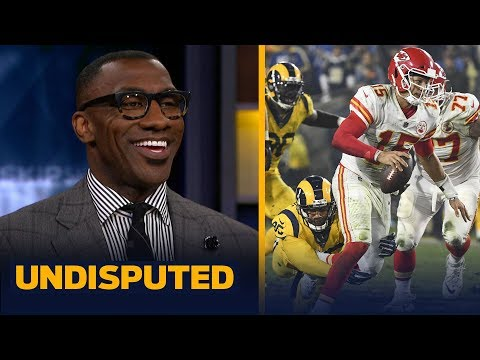 Shannon Sharpe reacts to Patrick Mahomes and the Chiefs' MNF loss to the Rams | NFL | UNDISPUTED