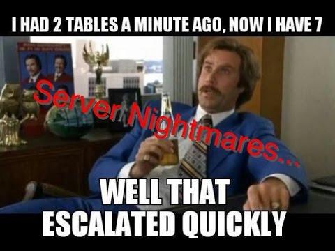 Server Nightmares