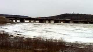 Athabaskan River breakup 29 April 2013