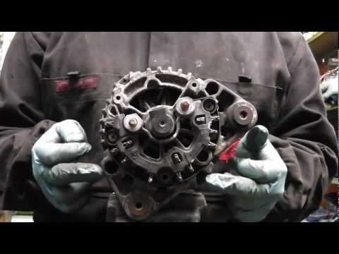 VW Audi Seat Skoda,alternator not charging diagnose and repair PART2