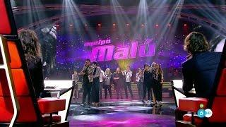 """Equipo Malú: """"Deshazte De Mí"""" - Final - La Voz 2016"""