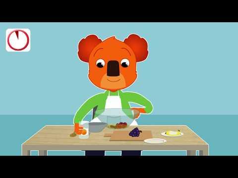 Thumbnail Fais une salade de fruits avec Ben le Koala