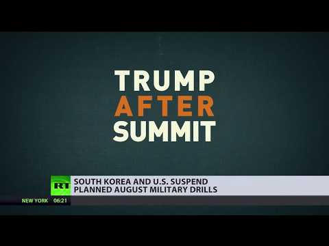 'War games' cancelled: US & South Korea call off military drills planned for August