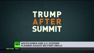 War games cancelled: US & South Korea call off military drills planned for August