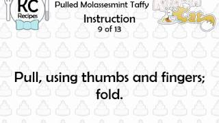 Pulled Molassesmint Taffy - Kitchen Cat
