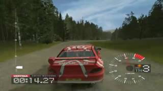 Colin McRae Rally 3 PC gameplay
