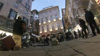 EIGHT DAYS A WEEK - Edwin One Man Band - busker - Genova - 2016