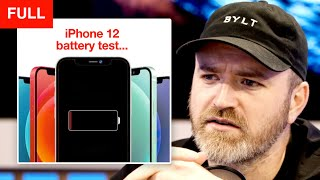 iPhone 12 Battery Tests Not Looking Great...