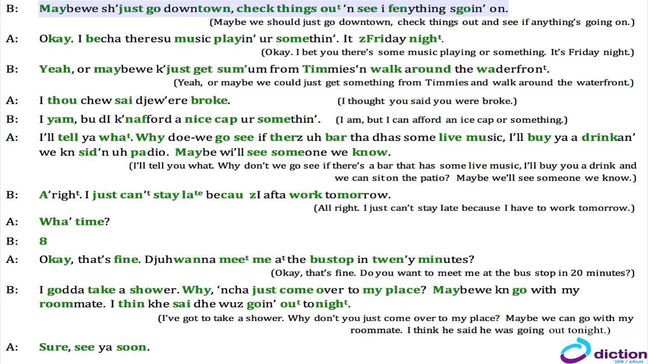 english dialogue conversation between two friends pdf