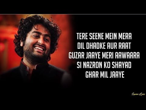 Maine Socha Ke Chura Loon (Lyrics) – Arijit Singh, Shreya Ghoshal | Phir Se
