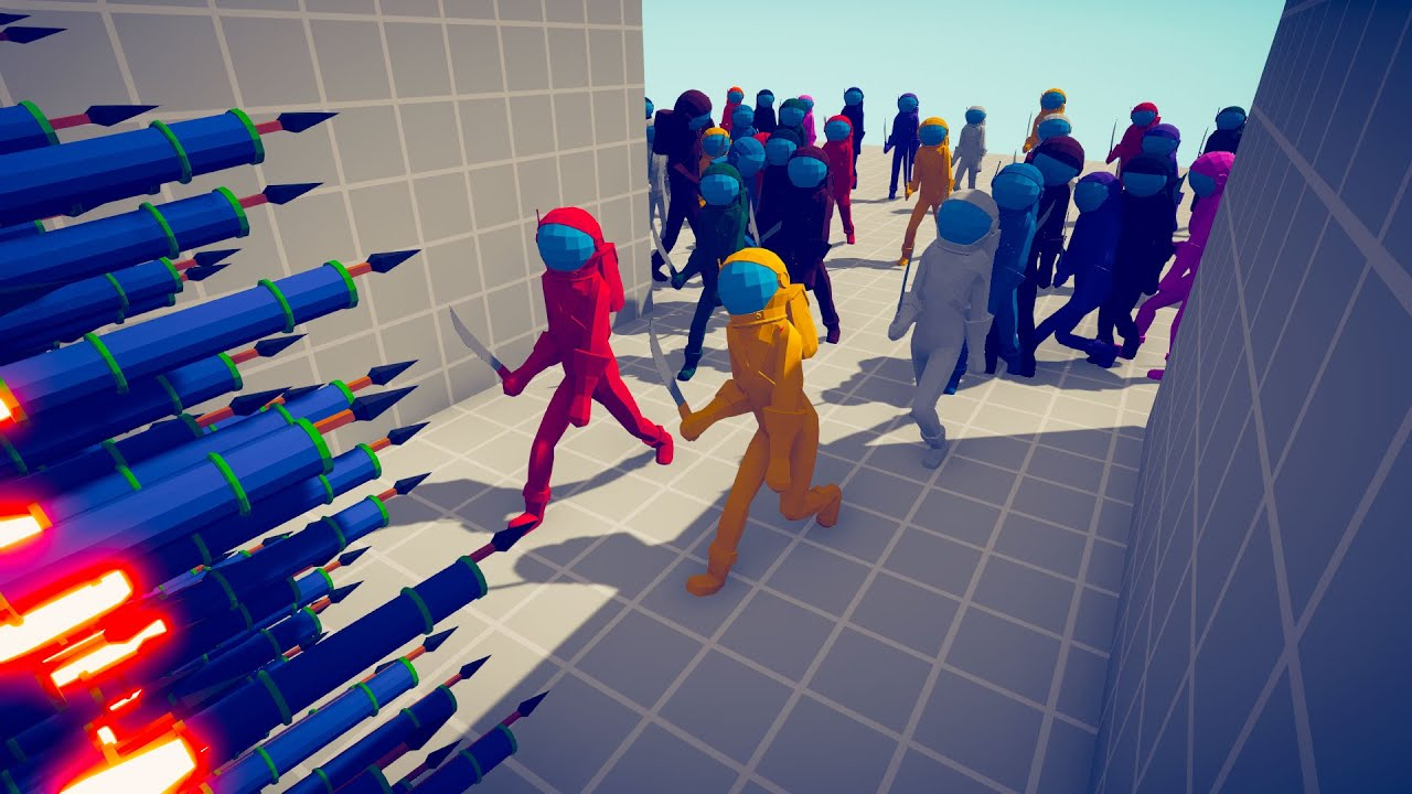 100x IMPOSTOR AMONG US vs EVERY GOD | TABS - Totally Accurate Battle Simulator