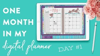 One Month in My Digital Planner: Day 1