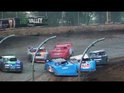 Super Late Model Heats,B-Main @ Willamette Speedway 2017