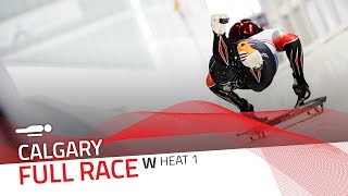 Calgary (WCup 7) | BMW IBSF World Cup 2018/2019 - Women's Skeleton Heat 1 | IBSF Official
