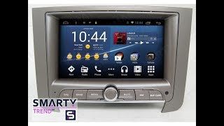 The SMARTY Trend head unit for SsangYong Rexton II (2006-2012).