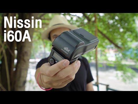 Shop88 แฟลช Nissin i60A แฟลชตัวท็อปขนาดเล็กพลังแรง GN 60
