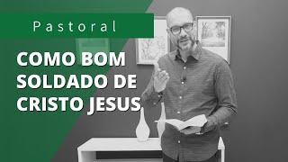 Participa dos meus sofrimentos | Rev. Juliano Socio | I Timóteo 2:3-7