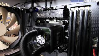h220 vs h110 vs eisberg 240l vs water 2 0 cpu cooler showdown