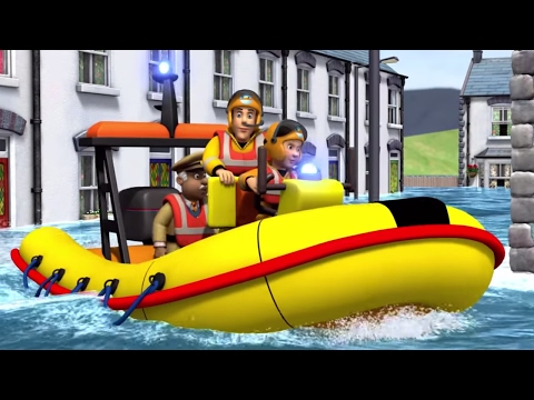 Fireman Sam New Episodes | Best Water Rescues  🚒 🔥 | Cartoon