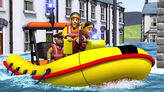 Fireman Sam New Episodes | Best Water Rescues  🚒 🔥 | Cartoons for Children