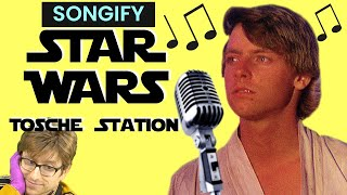 TOSCHE STATION (Star Wars, but Luke only wants to go into Tosche Station & doesn't care about politi