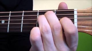 E-Dur Gitarrenakkord lernen - Gitarrenakkorde für Anfänger