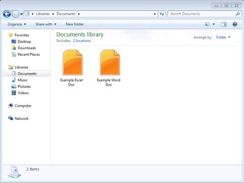 Fix Orange Icons For Word Excel Documents Office 2010 Starter