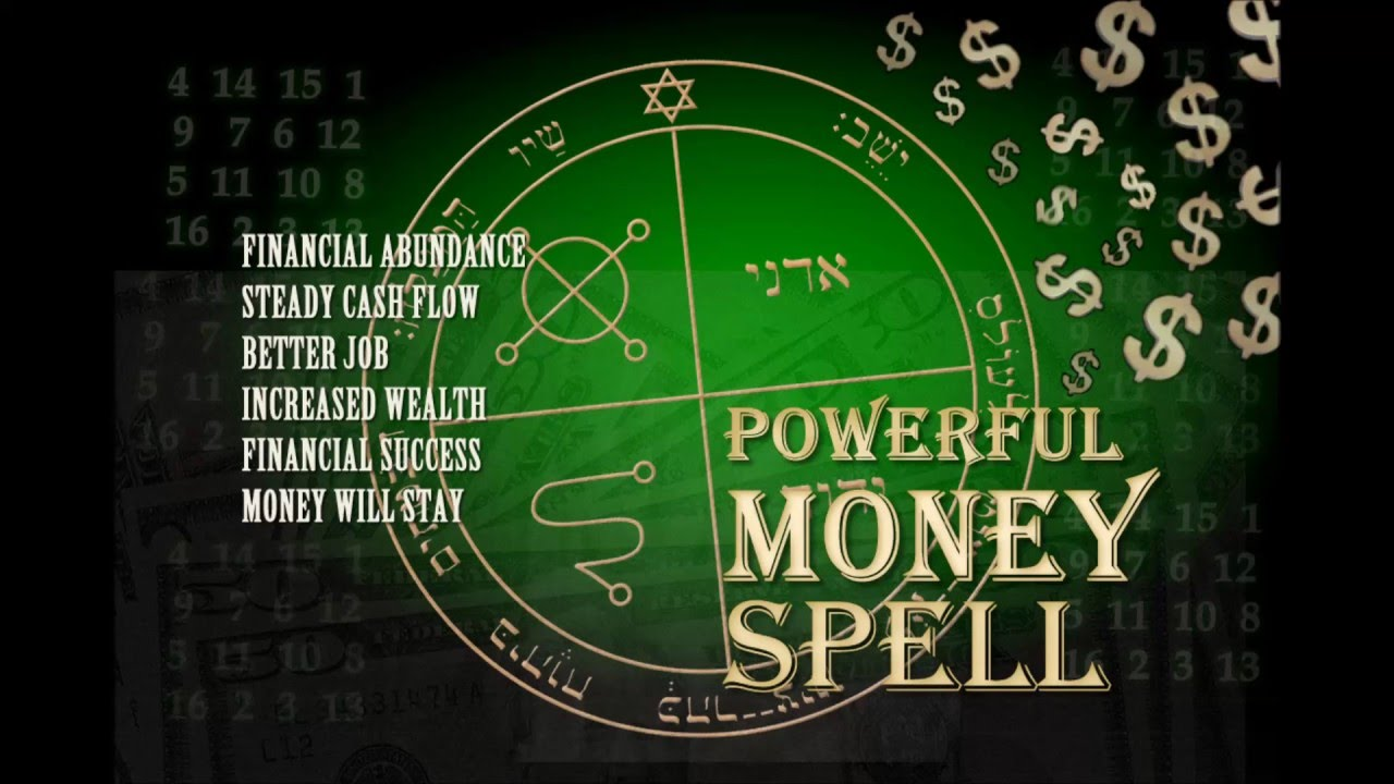 Effective Money Spell + Money Drawing Oil Recipe