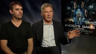 Ender's Game: Harrison Ford And Director Gavin Hood Discuss Their Adaptation Of Orson Scott