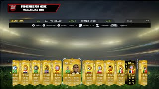 SIF & 90 RATED PLAYER! 5 LIGHTNING ROUND 100K PACKS! - Fifa 15 Ultimate Team Pack Opening Thumbnail