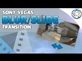 Sony Vegas Smooth Slide Push Transition Quick Easy