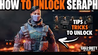 HOW TO UNLOCK SERAPH IN BLACK OPS 4 BLACKOUT | How to Unlock Characters in Call of Duty Black Ops 4