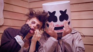 Download Lagu YUNGBLUD Shows Marshmello His Beauty SECRETS  | Tongue Tied Makeup Tutorial mp3