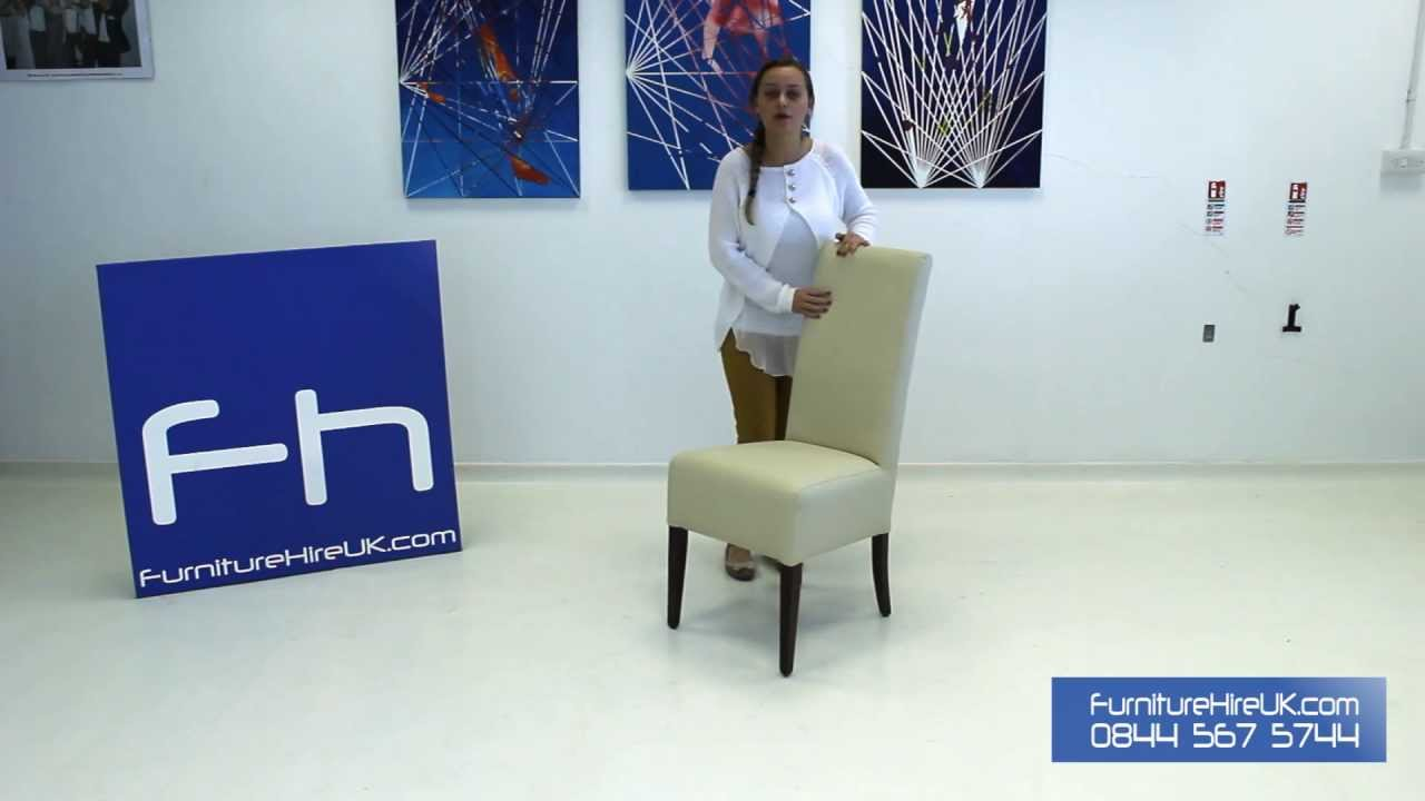 Fine Dining Chair Demo - Furniture Hire UK