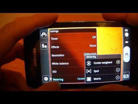 Samsung Galaxy R i9103 Test 3