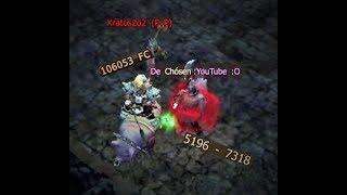 NEW DAMAGE, test in pvp with Chosen | Kratos2o2 | Drakensang Online