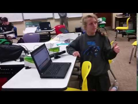 Porter Gaud School Kinect & HoloLens Programming Class in Motion