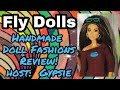 New Barbie Series FLY DOLLS: Fashion Pack & Doll Clothes Review