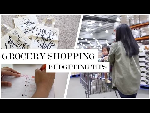 How-to: Grocery Shop - Plan and Budget Grocery Tips