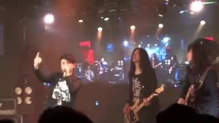 "io樂團演唱""少了一個你"" in {再登木衛一}ALIVE系列演唱會 at the Legacy on 27/3/2016"