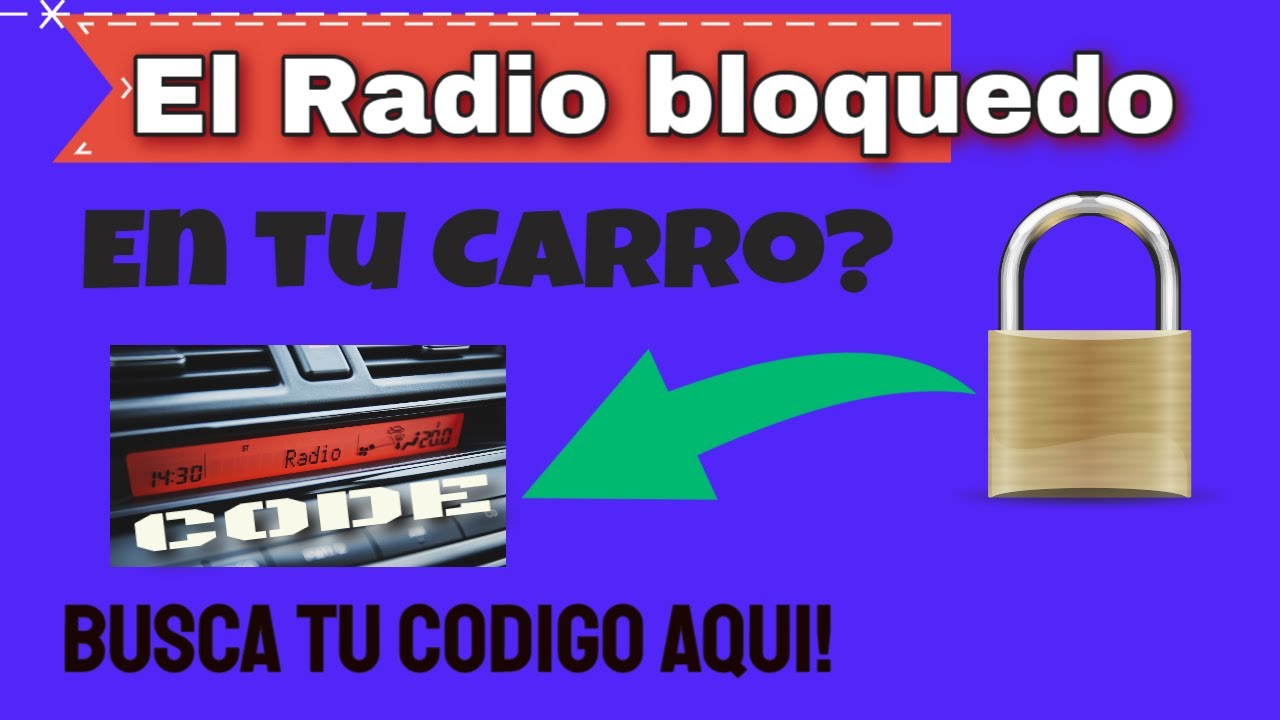 codigo de radio honda facil youtube