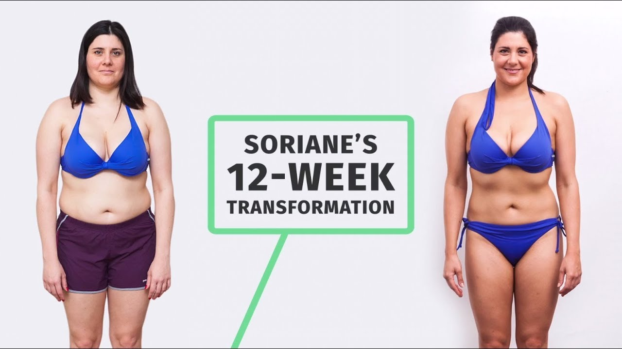 Soriane S 12 Week Transformation With 8fit Youtube